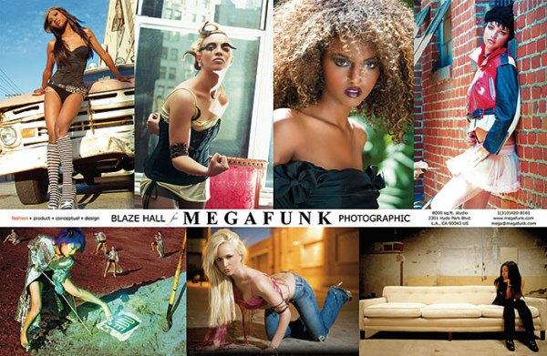 megafunk back of the card of comp